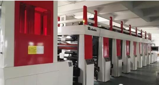 高速柔版印刷机