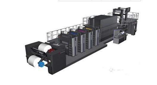 多功能轮转印刷机